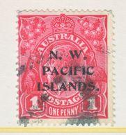 NORTH WEST PACIFIC  ISLANDS  12   (o)  Wmk. 9  Wide Crown Narrow  A - Australia