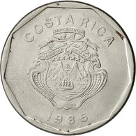 Costa Rica, 20 Colones, 1985, TTB, Stainless Steel, KM:216.2 - Costa Rica