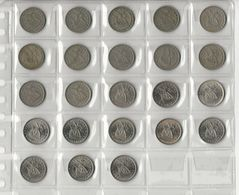 Portugal Collection 2 1/2 Escudos 1963-1985 Without Commemoratives - Kilowaar - Munten