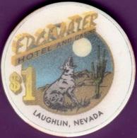 $1 Casino Chip. Edgewater, Laughlin, NV. G14. - Casino