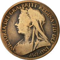 Monnaie, Grande-Bretagne, Victoria, Penny, 1899, B+, Bronze, KM:790 - 1816-1901: 19. Jh.