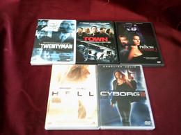 PROMO  DVD ° REF  269 ° LE LOT DE 5 FILMD  DVD POUR 20 EUROS °°° - Action, Adventure