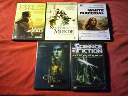 PROMO  DVD ° REF  125  ° LE LOT DE 5 DVD  POUR 20 EUROS °°° - Action, Adventure