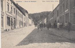 Houffalize - Route De Bastogne - Très Animé - 1909 - Edit. Victor Caën, Arlon - Houffalize