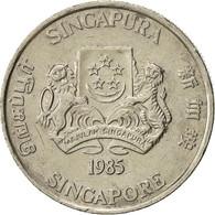 Singapour, 20 Cents, 1985, British Royal Mint, TTB, Copper-nickel, KM:52 - Singapore