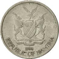 Namibia, 10 Cents, 1993, Vantaa, TB+, Nickel Plated Steel, KM:2 - Namibie