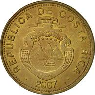 Costa Rica, 100 Colones, 2007, TTB, Brass Plated Steel, KM:240a - Costa Rica