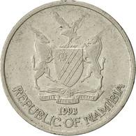 Namibia, 10 Cents, 1993, Vantaa, TTB, Nickel Plated Steel, KM:2 - Namibie