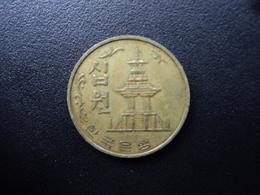 CORÉE DU SUD : 10 WON   1978   KM 6a    TTB - Korea, South