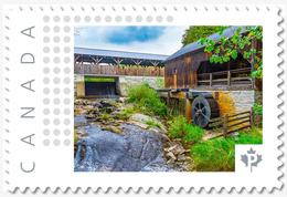 O'HARA MILL, Madoc Ontario, Custom Postage Stamp MNH Canada 2018 [p18-04sn02] - Windmills