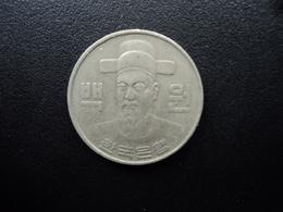 CORÉE DU SUD : 100 WON   1982   KM 9    TTB - Korea, South