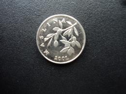 CROATIE : 20 LIPA  2001.    KM 7     SUP+ - Croatia