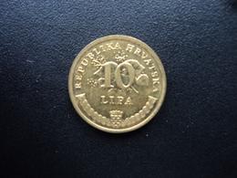 CROATIE : 10 LIPA  1999.    KM 6    SUP - Croatia