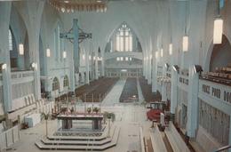 Carte De Souhaits - Sherbrooke Québec Canada - Intérieur De La Cathédrale église Saint-Michel - 2 Scans - Sherbrooke
