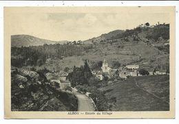 Alzon Entrée Du Village - France