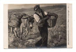 """ART . TABLEAU . C. FIRMIN . """" RETOUR A LA GRANGE """" . SALON DE PARIS DE 1910 - Réf. N°9349 - - Peintures & Tableaux"""