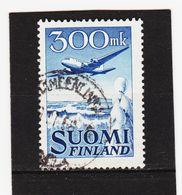 AUA689 FINNLAND 1950 Michl 384 Gestempelt / Entwertet  ZÄHNUNG Und STEMPEL SIEHE ABBILDUNG - Finnland