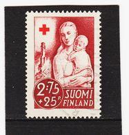 AUA686 FINNLAND 1941 Michl 235 Gestempelt / Entwertet  ZÄHNUNG Und STEMPEL SIEHE ABBILDUNG - Gebraucht