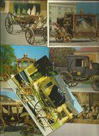 7 CART. CARROZZE   (331) - Cartoline
