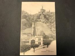 LUZERN Gutschbahn V. Hotel Gutsch - LU Lucerne