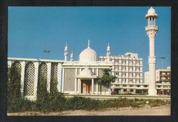 United Arab Emirates Sharjah Airport Mosque Picture Postcard U A E View Card - Dubai