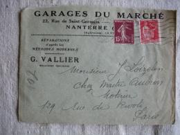 Nanterre Garage Du Marche Vallier Enveloppe Commerciale - France