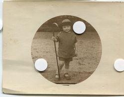 Jeune Enfant Chapeau Canne 20s   Circulaire Type Kodak 1 Kodak N°1 - Persone Anonimi