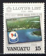 VANUATU - 1984 - Lloyd's List - MNH - Vanuatu (1980-...)