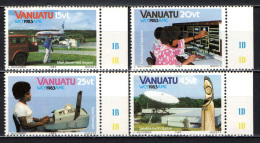 VANUATU - 1983 - World Communications Year - MNH - Vanuatu (1980-...)