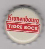 CAPSULE BIERE KRONENBOURG . TIGRE BOCK . - Cerveza