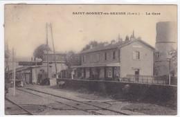 Saône-et-Loire - Saint-Bonnet-en-Bresse - La Gare - France