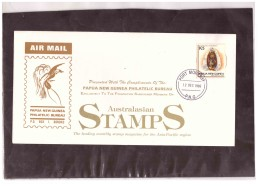950   -   PORT MORESBY  12.12.1996    /     AIR MAIL COVER FRANKED WITH Y.T. Nr.  715 - Papua Nuova Guinea