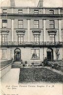 - York House ,Clarence Terrace , Douglas  - Isle Of Man - Mrs Quine - - Angleterre