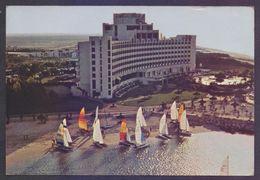 UAE United Arab Emirates, Picture POSTCARD On Hatta Fort & Jebel Ali Hotel, Postal Used Post Card - United Arab Emirates