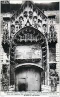 10 Troyes - Cpa / Eglise De La Madeleine - Porte De L'Ancien Cimetière. - Troyes