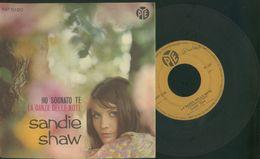 SANDIE SHAW -HO SOGNATO TE -LA DANZA DELLE NOTE -DISCO VINILE 45 GIRI - Vinyl-Schallplatten