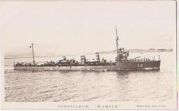 Torpilleur   136         Torpilleur Kabyle - Krieg