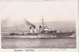 Torpilleur   160        Torpilleur Mistral - Krieg
