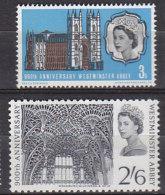 PGL AA0483 - GRANDE BRETAGNE Yv N°435/36 ** WESTMINSTER - 1952-.... (Elizabeth II)