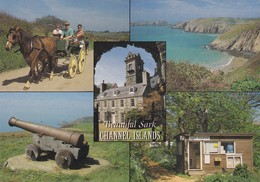 Postcard Beautiful Sark Channel Islands PU 1996 With Guernsey Post Office Cancel And Stamps My Ref  B22532 - Sark