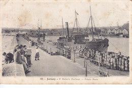Jersey St Helier's Harbour Potato Boats - Jersey