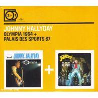 "Johnny Hallyday "" Olympia 1964 + Palais Des Sports 67 "" - Music & Instruments"