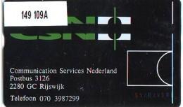 Telefoonkaart  LANDIS&GYR  NEDERLAND * RCZ.149   109A * CSN *  TK * ONGEBRUIKT * MINT - Nederland