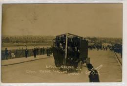 Liverpool- Carte-Photo Strike- Motor Waggon-51 - Angleterre