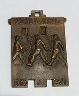 Medaglia - RADUNO NAZIONALE  REGGIMENTO FANTI D'ITALIA (Como - 1939 - A. XVII) Bronzo - Affer - Italia