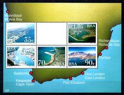 AFRIQUE DU SUD. BF 31 De 1993. Ports D'Afrique Du Sud. - Blocs-feuillets