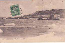 CPA - 328.  BIARRITZ - La Pointe Du Phare - Biarritz