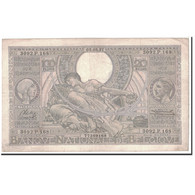 Billet, Belgique, 100 Francs-20 Belgas, 1937, 1937-02-05, KM:107, TTB - [ 2] 1831-... : Belgian Kingdom