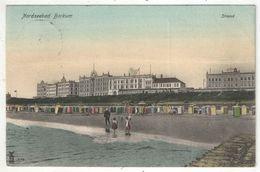 Nordseebad BORKUM - Strand - 1905 - Borkum