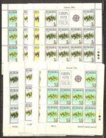 1972 Malta EUROPA CEPT EUROPE 50 Serie Di 4v. MNH** In 20 Minifogli 20 Minisheets - 1972
